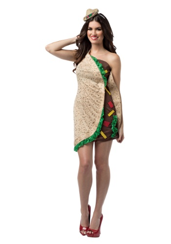 Click Here to buy Taco Costume Dress from HalloweenCostumes, CDN Funds & Shipping