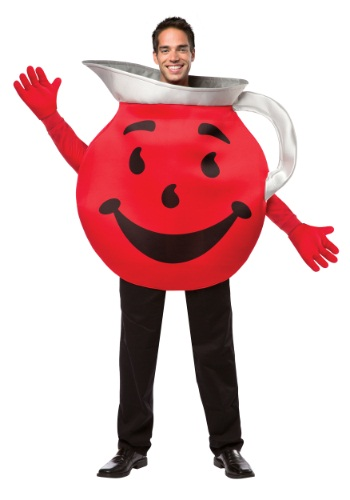 Click Here to buy Adult Kool-Aid Costume from HalloweenCostumes, CDN Funds & Shipping