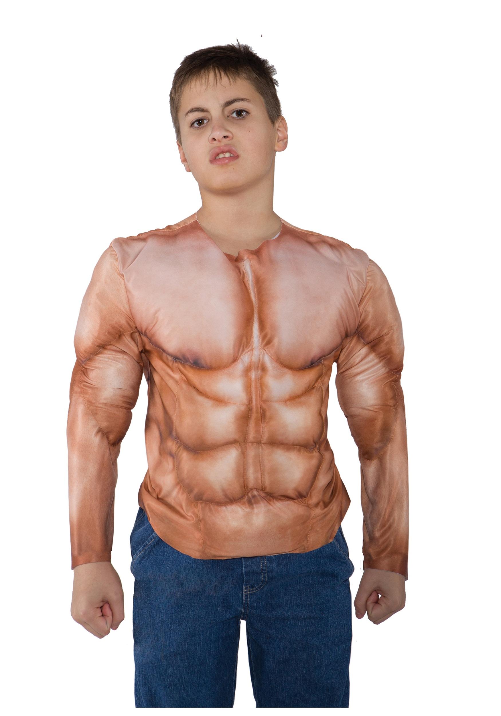 Slightly muscular men
