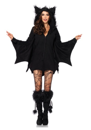 Plus Size Cozy Bat Adult Size Costume | Animal Costumes For Adults