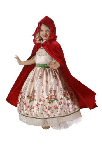 Click Here to buy Kids Vintage Red Riding Hood Costume Set from HalloweenCostumes, CDN Funds & Shipping