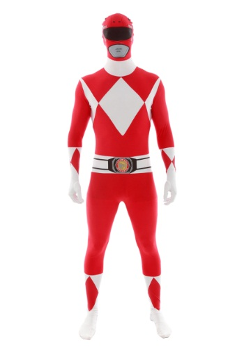 Click Here to buy Power Rangers: Red Ranger Morphsuit Costume from HalloweenCostumes, CDN Funds & Shipping