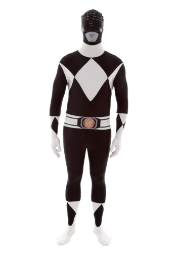 Click Here to buy Power Rangers: Black Ranger Morphsuit Costume from HalloweenCostumes, CDN Funds & Shipping