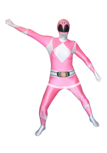 Click Here to buy Power Rangers: Pink Ranger Morphsuit Costume from HalloweenCostumes, CDN Funds