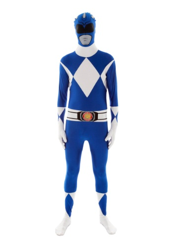 Click Here to buy Power Rangers: Blue Ranger Morphsuit Costume from HalloweenCostumes, CDN Funds & Shipping