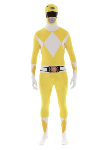 Click Here to buy Power Rangers: Yellow Ranger Morphsuit Costume from HalloweenCostumes, CDN Funds & Shipping