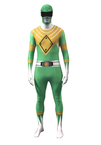 Click Here to buy Power Rangers: Green Ranger Morphsuit Costume from HalloweenCostumes, CDN Funds & Shipping