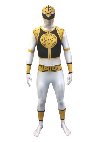 Power Rangers: White Ranger Morphsuit Costume