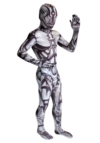 Click Here to buy Kids The Android Morphsuit Costume from HalloweenCostumes, CDN Funds & Shipping