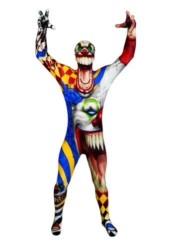 Click Here to buy Adult The Clown Costume Morphsuit from HalloweenCostumes, CDN Funds & Shipping