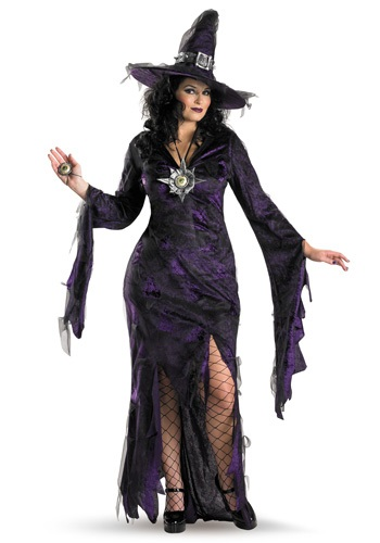 Plus Size Sorceress Costume