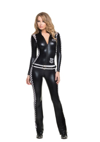 Womens Racer Girl Costume