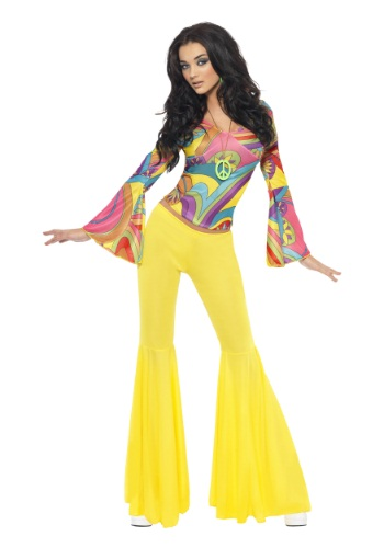 Click Here to buy Womens Groovy Gal Costume from HalloweenCostumes, CDN Funds & Shipping