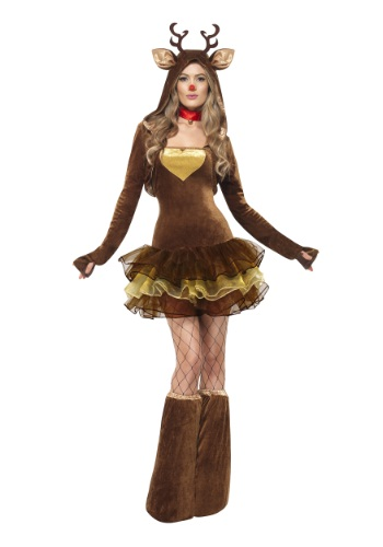 Click Here to buy Womens Reindeer Costume from HalloweenCostumes, CDN Funds