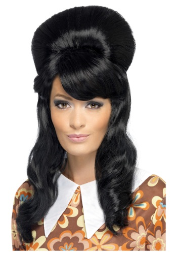 Click Here to buy 60s Brigitte Bouffant Wig from HalloweenCostumes, CDN Funds & Shipping