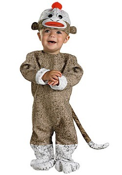 Infant Sock Monkey Costume