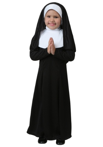Click Here to buy Toddler Nun Costume from HalloweenCostumes, CDN Funds & Shipping