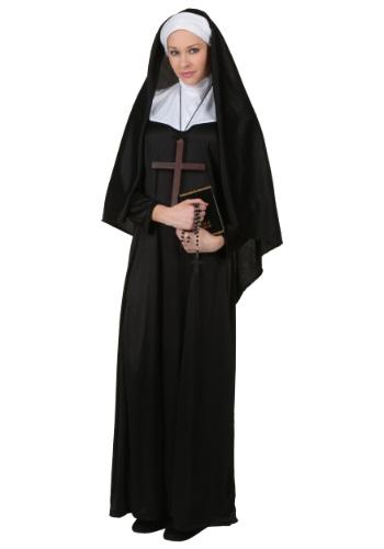 Plus Size Traditional Nun Costume