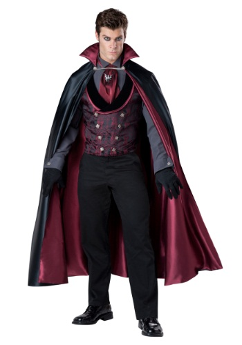 Mens Nocturnal Count Vampire Costume
