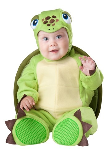 Click Here to buy Tiny Turtle Baby Costume from HalloweenCostumes, CDN Funds & Shipping