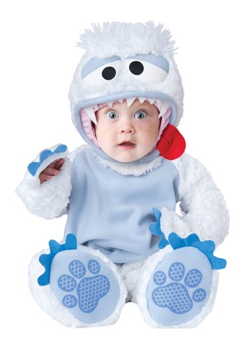 Click Here to buy Abominable Snowbaby Baby Costume from HalloweenCostumes, CDN Funds & Shipping