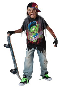 Zombie Sk8r Child Costume