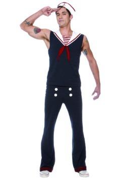 Men's Plus Size Deckhand Sailor Costume