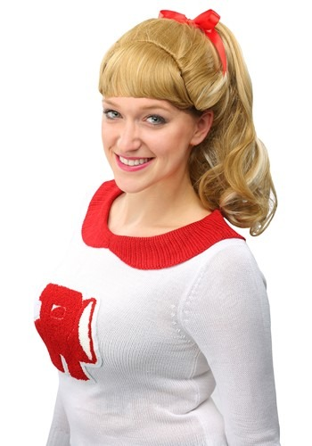 Click Here to buy Grease Good Sandy Wig from HalloweenCostumes, CDN Funds & Shipping