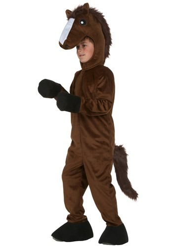 Kids Horse Costume W/ Full Suit