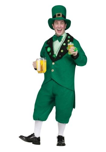 Click Here to buy Pub Crawl Leprechaun Adult Costume from HalloweenCostumes, CDN Funds & Shipping