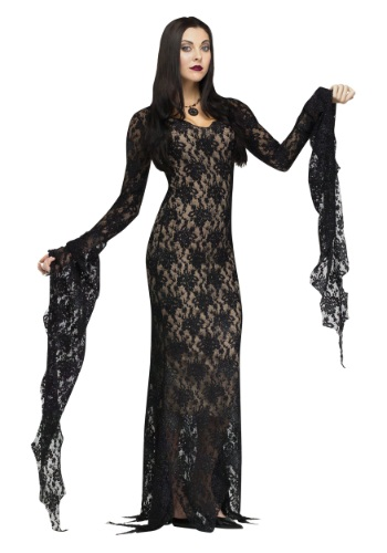 Click Here to buy Lace Miss Darkness Adult Costume from HalloweenCostumes, CDN Funds & Shipping