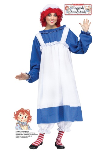 Click Here to buy Raggedy Ann Adult Costume from HalloweenCostumes, CDN Funds & Shipping