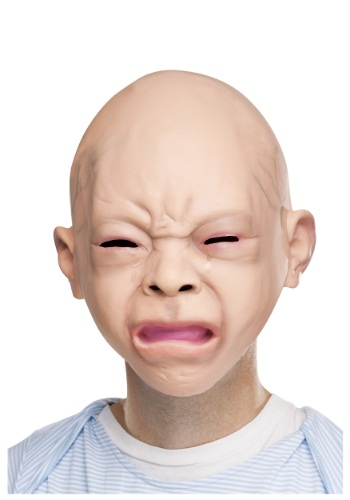 Click Here to buy Crying Baby Mask from HalloweenCostumes, CDN Funds & Shipping