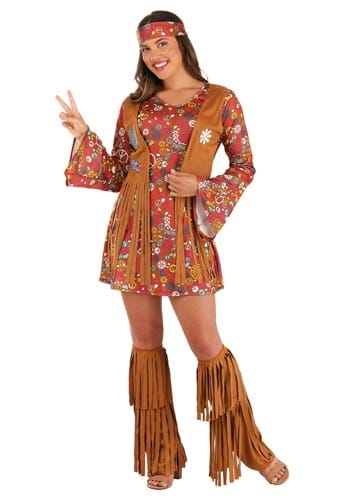 Click Here to buy Peace & Love Hippie Adult Costume from HalloweenCostumes, CDN Funds & Shipping