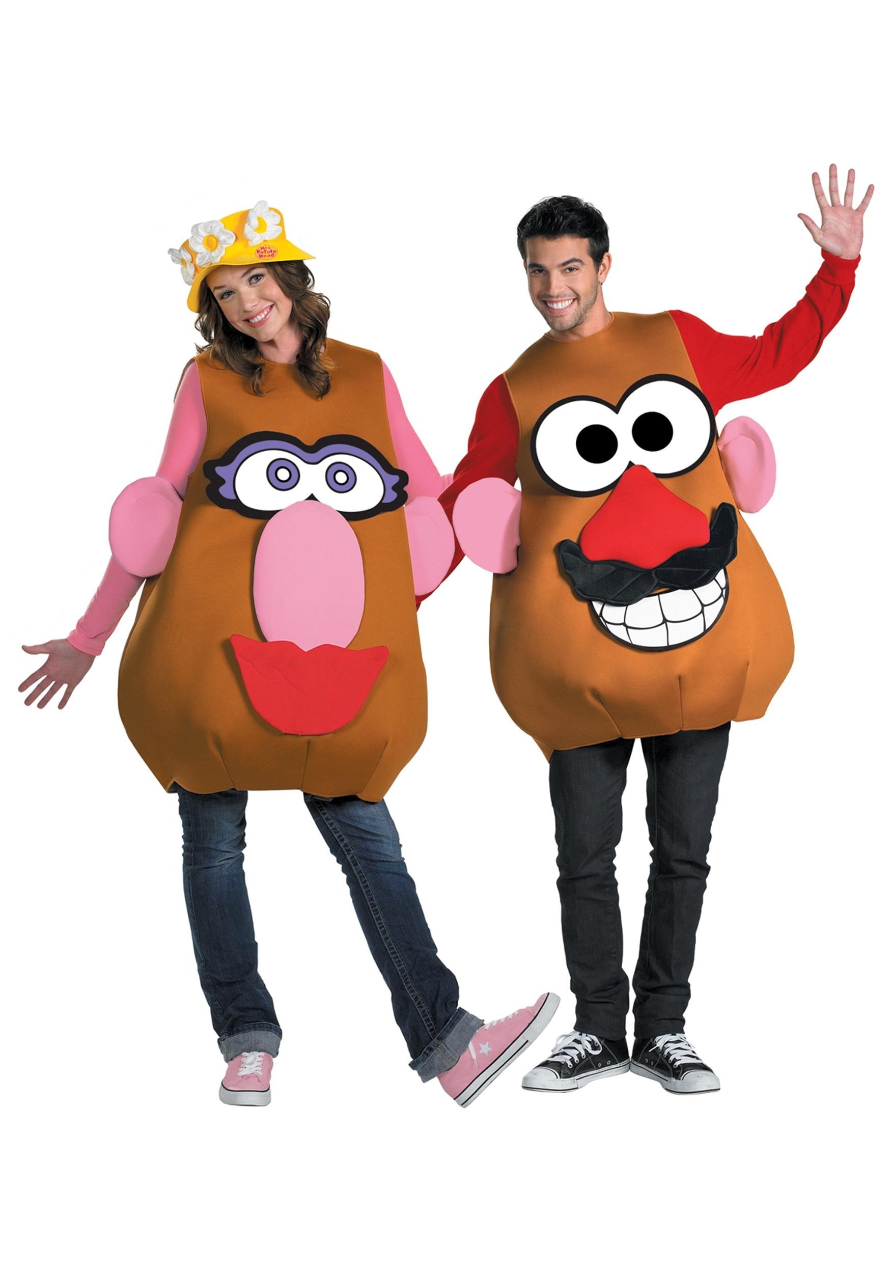 mr mrs potato head plus size costume