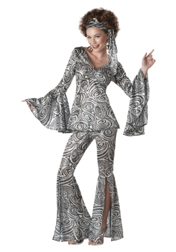 Click Here to buy Womens Foxy Lady Disco Costume from HalloweenCostumes, CDN Funds & Shipping