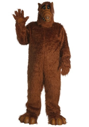Click Here to buy Plus Size Alf Costume from HalloweenCostumes, CDN Funds & Shipping
