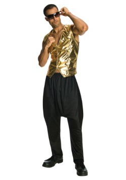 Gold MC Hammer Vest