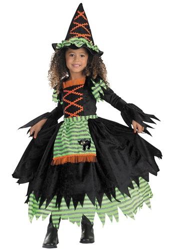 Click Here to buy Toddler Storybook Witch Costume from HalloweenCostumes, CDN Funds & Shipping