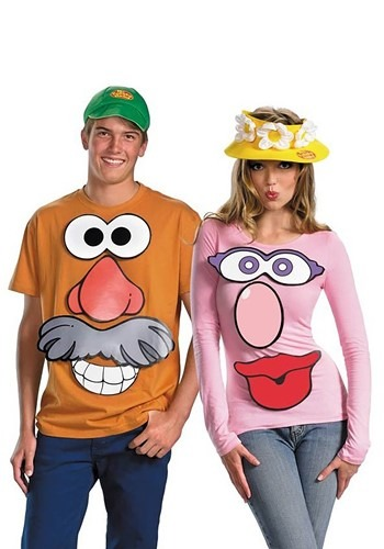Mr. and Mrs. Potato Head Kit - Toy Story Costume Ideas