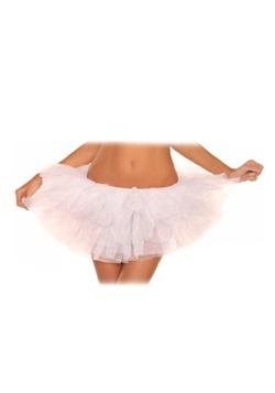 Plus Size White Tutu Petticoat