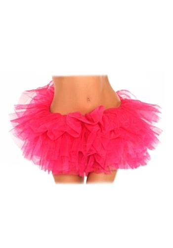 Plus Size Pink Tutu Petticoat