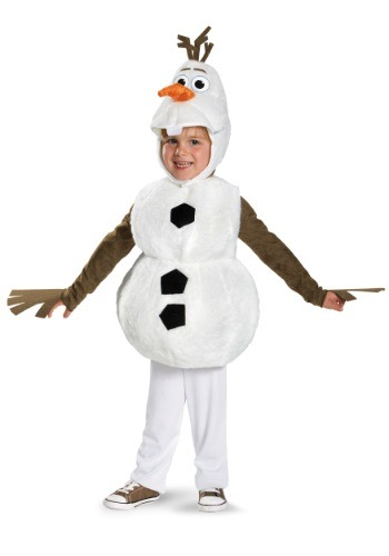 Click Here to buy Frozen Olaf Kids Costume from HalloweenCostumes, CDN Funds & Shipping