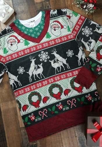 Adult Ugly Frisky Deer Sweater