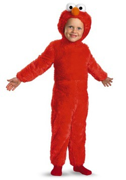 Toddler Furry Elmo Costume