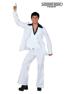 Adult Deluxe Saturday Night Fever Costume new