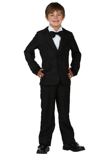 Child Black Suit