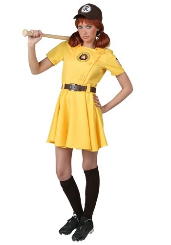 Click Here to buy Plus Size A League of Their Own Kit Costume from HalloweenCostumes, CDN Funds & Shipping