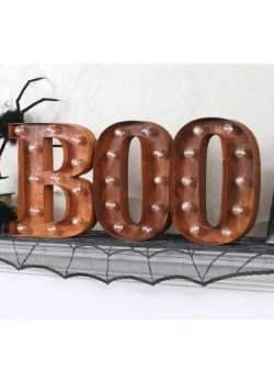 "Lighted BOO Sign Letter ""B"""