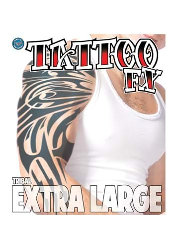 Extra Large Tribal Temporary Tattoo